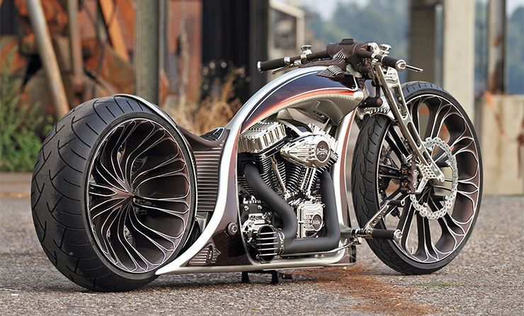Thunderbike Unbreakable German custom bike