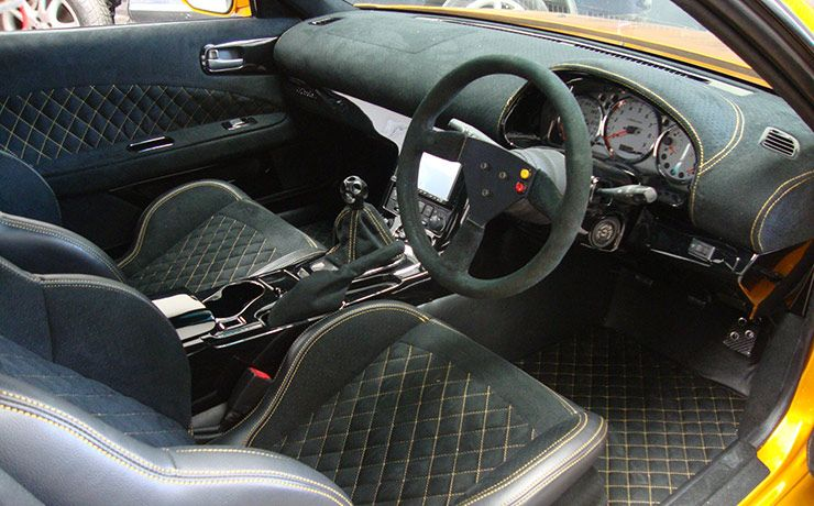 iCANDY Nissan S15 200SX interior