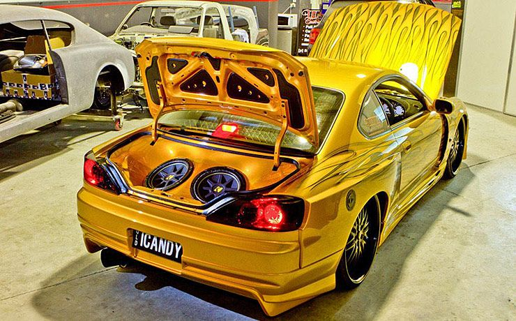iCANDY Nissan S15 200SX trunk