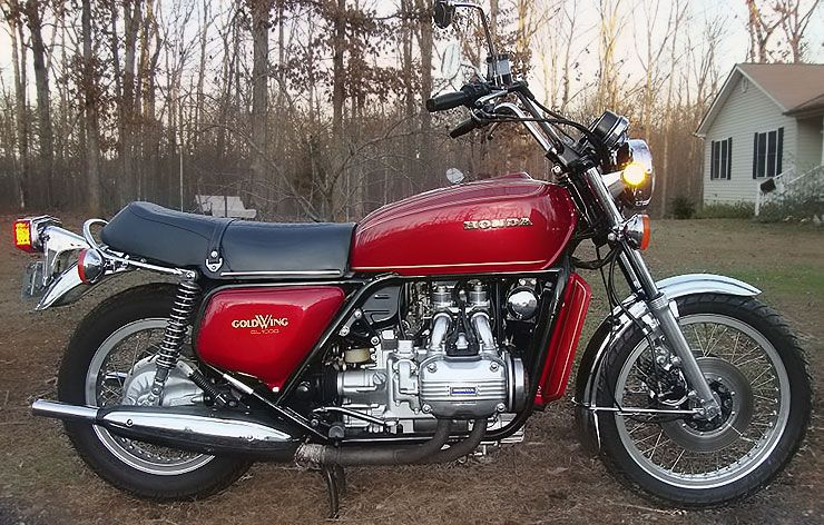 Gold Wing 1975 Honda GL1000