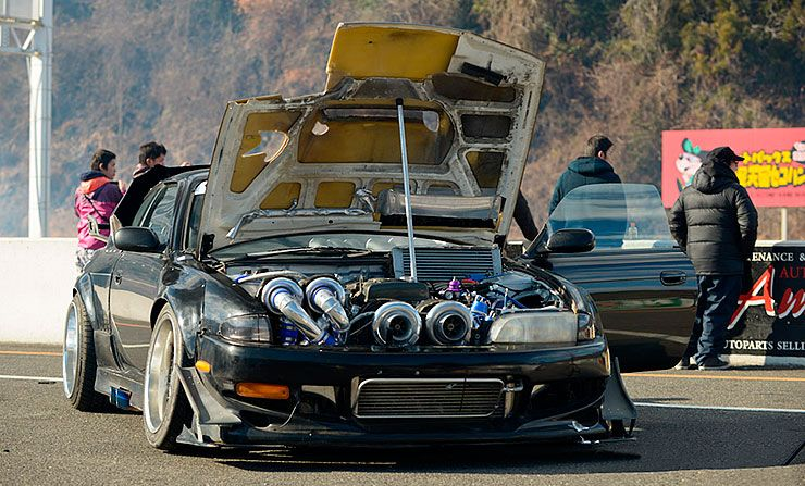 Quad-Turbo 2JZ S14 Nissan Silvia