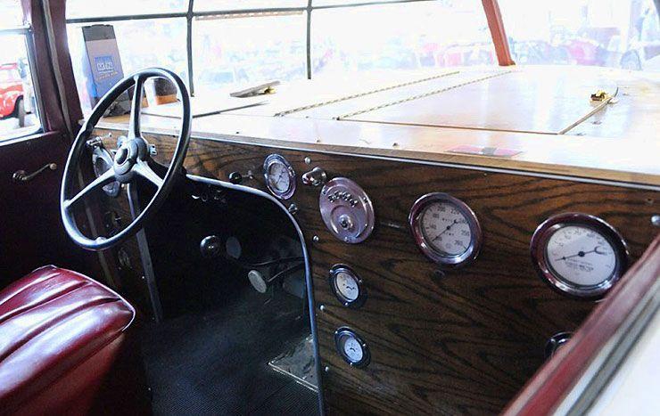 1934 McQuay Norris Streamliner interior