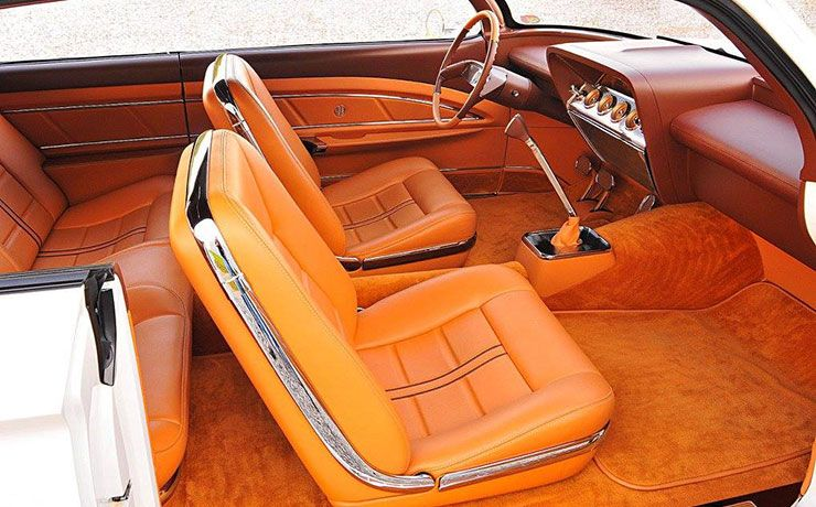 1961 Chevy wagon double bubble interior