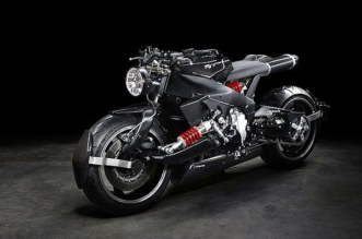 Lazareth Back To The Future Yamaha YZF R1 custom motorcycle