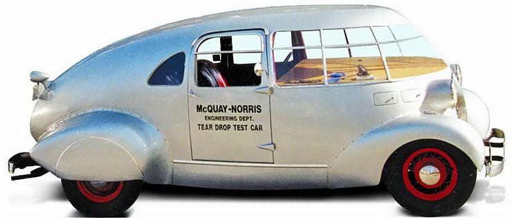 McQuay-Norris Teardrop test car