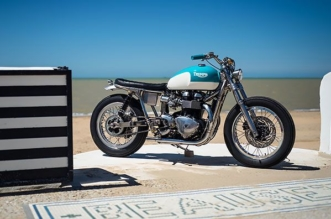 Triumph Bonneville Sunrising by FCR Original