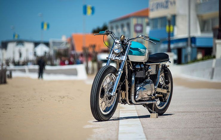 cafe racer Triumph Bonneville by FCR Original