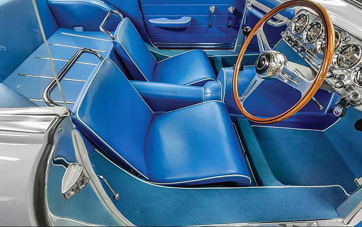 1953 Abarth 1100 Sport Coupe by Ghia interior