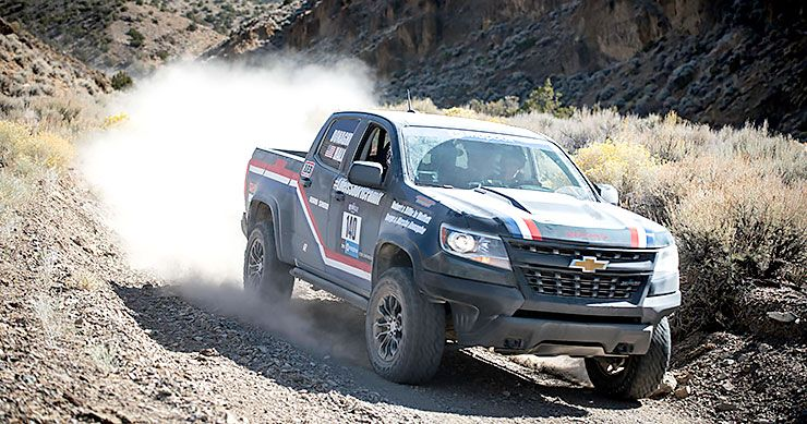 Chevrolet-Colorado-ZR2 Rebelle Rally