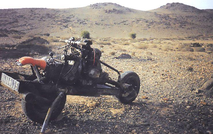 desert escape motorbike