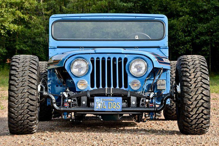 Levis CJ Jeep Hotrod V8 front