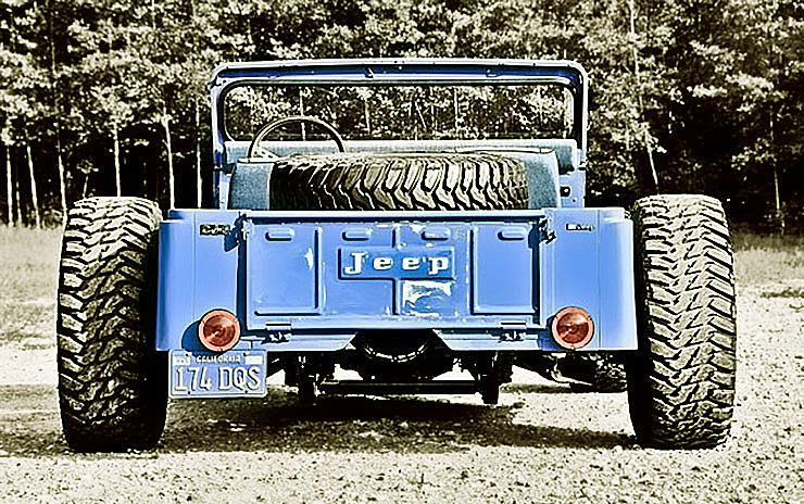 Levis CJ Jeep Hotrod V8 rear