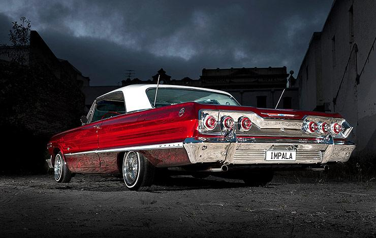 Old Skool Will Never Get Old: SUEÑO DE GUERRERO - 1963 Chevy Impala Lowrider  - ThrottleXtreme