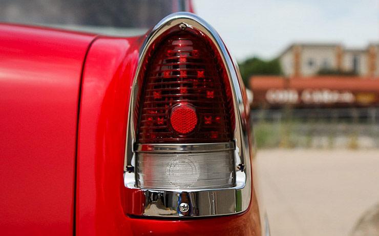 Fritz Reich 1955 Bel Air Hot Rod tail light