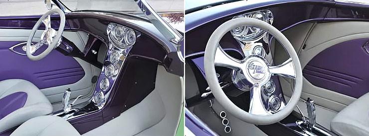 1932 Ford V8 Street Rod Xtreme Thunder interior front