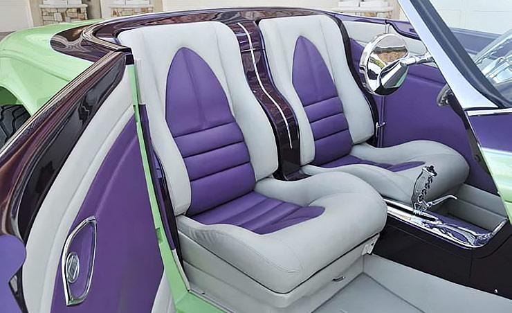 1932 Ford V8 Street Rod Xtreme Thunder interior