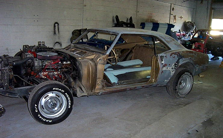 1967 Camaro restoration