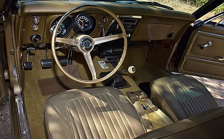 1967 Chevrolet Camaro interior