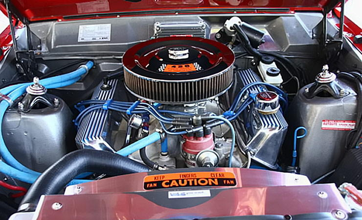 428 Thunderbird engine in 1966 Ford Fairlane