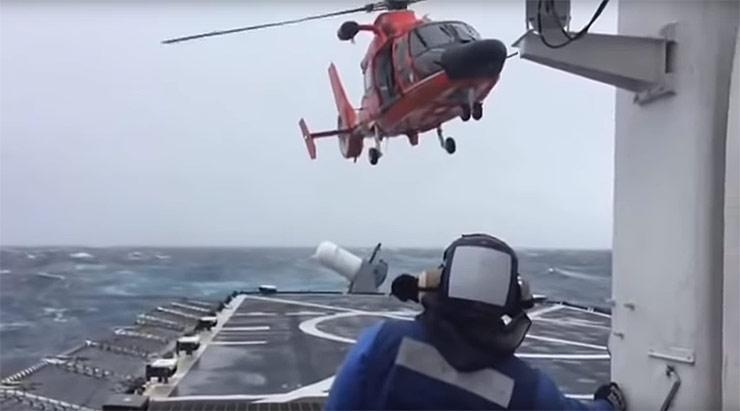 Alaska Coast Guard rescue mission