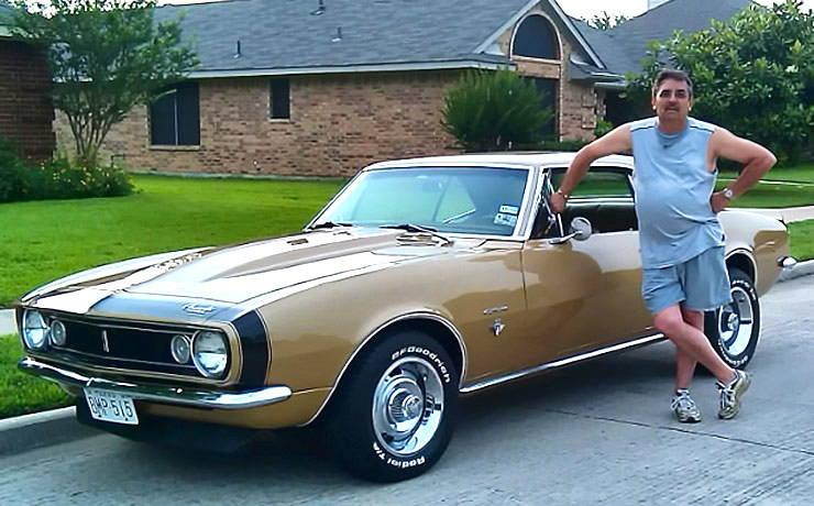 Granada Gold 1967 Camaro