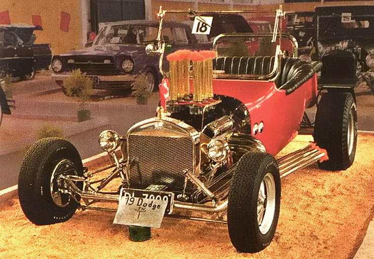 1919 Dodge T Bucket Hot Rod