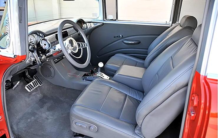 1955 Chevrolet 210 interior