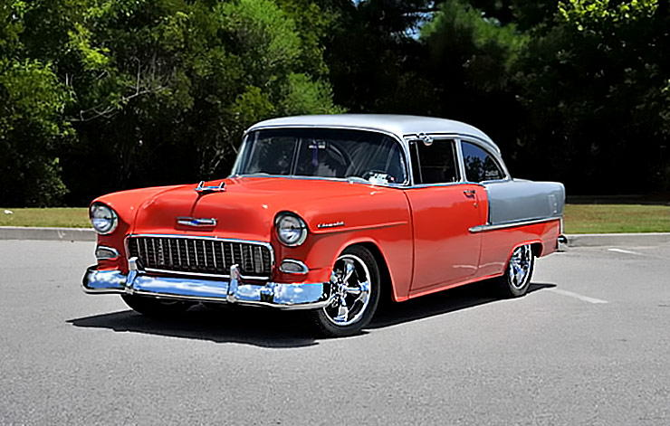 1955 Chevrolet 210 two door
