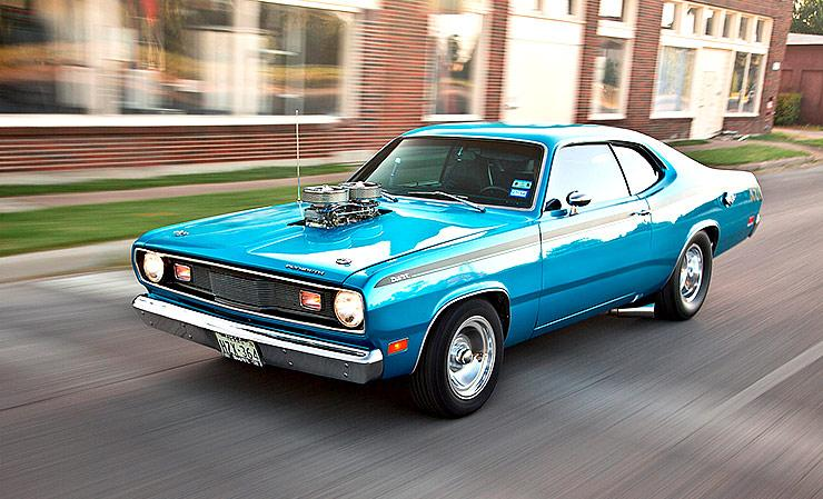 1971 Plymouth Duster streetrod front