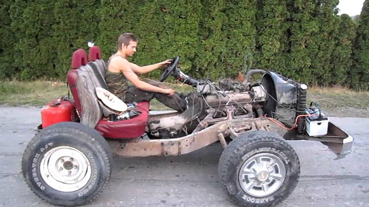Rednecks 350 Powered Go Kart
