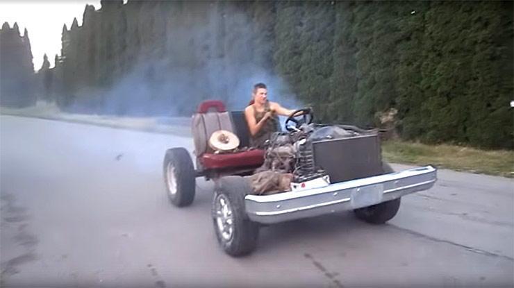 Rednecks Go Kart