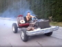 Rednecks have fun with 350 Powered Go Kart