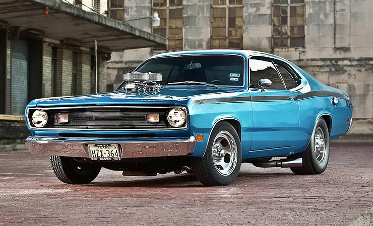 Throwback Tunnel Ram 1971 Plymouth Duster