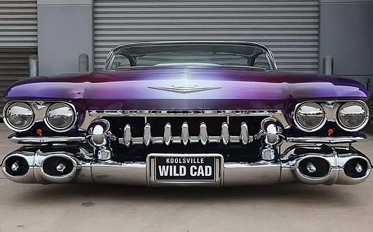 1959 Cadillac Coupe De Ville Wildcad front
