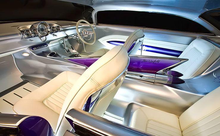 1959 Cadillac Coupe De Ville Wildcad interior