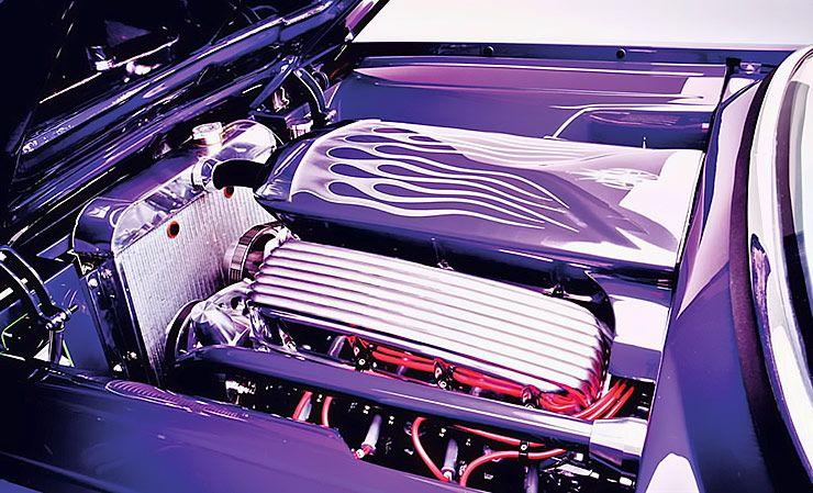 1959 Cadillac Coupe De Ville Wildcad motor