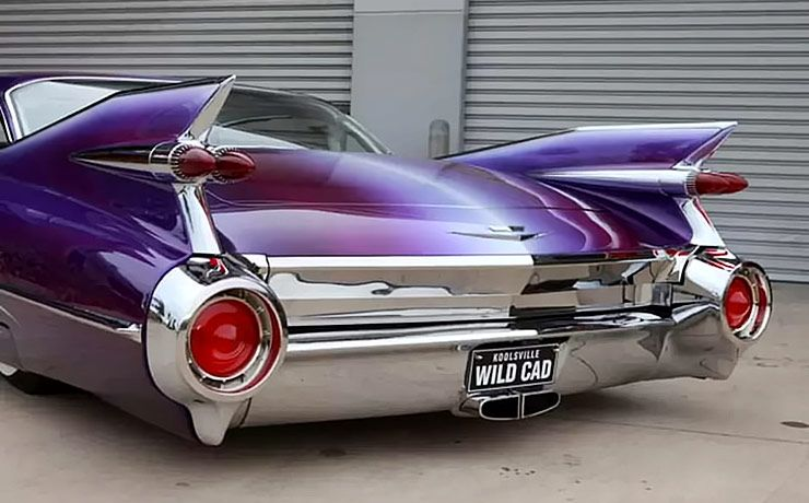 1959 Cadillac Coupe De Ville Wildcad rear