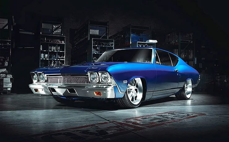1968 Chevelle Blue Eyed Devil front