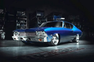 1968 Chevelle pro-touring Blue Eyed Devil