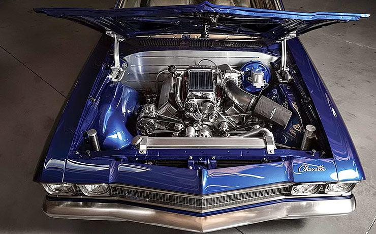 1968 Chevrolet Chevelle Blue Eyed Devil motor