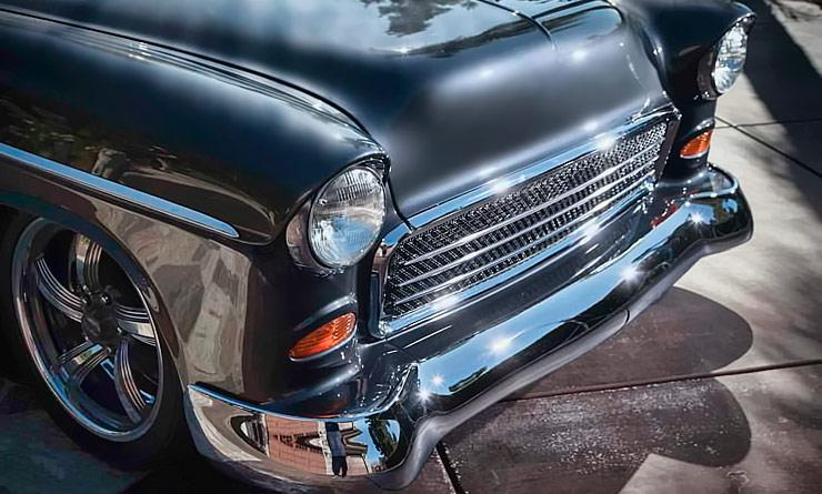 Double Nickel '55 Chevy Bel Air Named Eye Candy - ThrottleXtreme