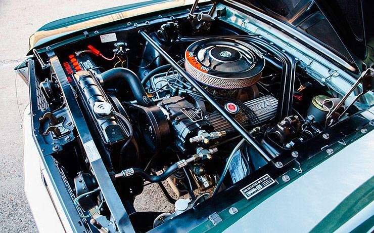 1966 Shelby GT350H Mustang engine