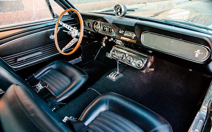 1966 Shelby GT350H Mustang interior
