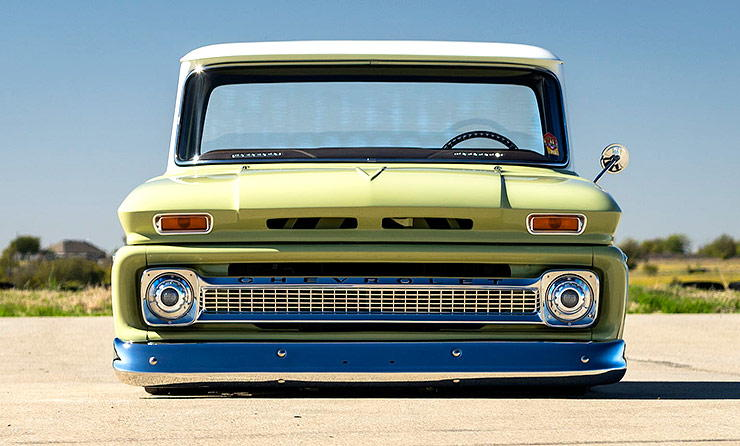 Chevrolet C10 - Boosted Bertha front