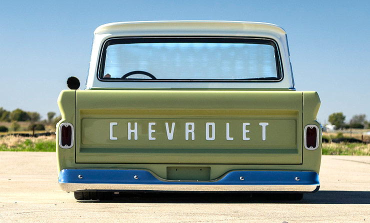 Chevrolet C10 - Boosted Bertha rear