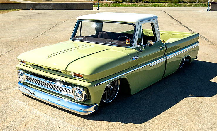 Chevrolet C10 - Boosted Bertha