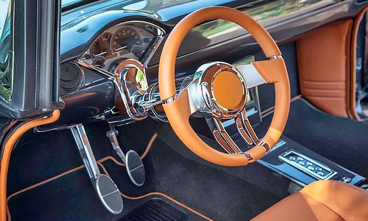 Eye Candy 1955 Chevy Bel Air interior