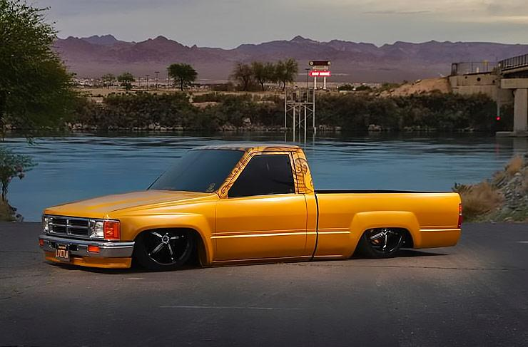'86 Toyota pickup named Goldy Lox