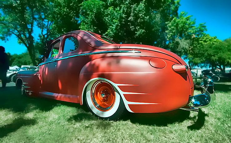 1942 Ford business coupe left side