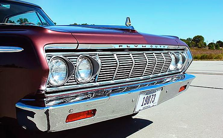 1964 Plymouth Fury front grill
